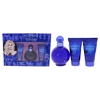 Britney Spears Midnight Fantasy 3.3oz EDP Spray, 1.7oz Bath & Shower Gel, 1.7oz Body Souffle