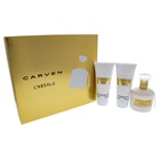 Carven LAbsolu 3.33oz EDP Spray, 3.33oz Perfumed Body Milk, 3.33oz Perfumed Bath and Shower Gel