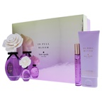 Kate Spade 2018F In Full Bloom International Set 3.4oz EDP Spray, 3.4oz Body Cream, 0.34oz Travel Spray, 0.25oz EDP Mini Splash