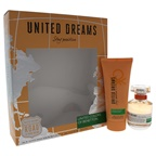 United Colors of Benetton United Dreams Stay Positive 1.7oz EDT Spray, 3.4oz Body Lotion
