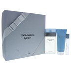 Dolce & Gabbana Light Blue 3.3oz EDT Spray, 3.3oz EDT Rollerball, 3.3oz Refreshing Body Cream
