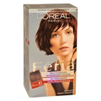 L'Oreal Paris Feria Multi-Faceted Shimmering Color3X Highlights#41 Rich Mahogany Hair Color