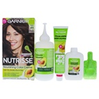 Garnier Nutrisse Nourishing Color Creme # 415 Soft Mahogany Dark Brown Hair Color