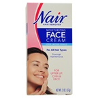 Nair Moisturizing Face Cream For Upper Lip Chin And Face Hair Removal