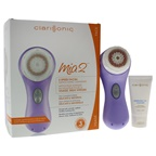 Clarisonic Mia 2 Sonic Skin Cleansing System - Lavender Lavender Mia 2, USB pLink Charger, Radiance Brush Head, Travel Cleanser