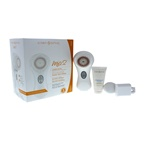 Clarisonic Mia 2 Facial Sonic Cleansing System - White White Mia 2, USB pLink Charger, Radiance Brush Head, Trial-Size Cleanser