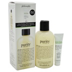 Philosophy Purity + Take a Deep Breath Duo 8oz Purity Made Simple, 0.5oz Free Take a Deep Breath Oil-Free Oxygenating Gel Cream