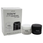 Philosophy Renew Your Day, Restore Your Night Duo 1oz Renewed Hope In A Jar Day, 1oz Renewed Hope In A Jar Night
