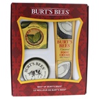 Burt's Bees Best Of Burt's Bees Set 2oz Almond & Milk Hand Cream, 4.34oz Coconut Foot Creme, 0.6oz Lemon Butter Cuticle Cream