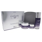 Christian Dior Capture Xp Expert Wrinkle Correction Day Ritual 1.7oz Ultimate Deep Wrinkle Correction Serum, 1.7oz Ultimate Wrinkle Correction Creme, 0.52oz Ultimate Wrinkle Correction Eye Creme, Pouch