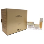 Christian Dior Dior Prestige Day Ritual 1oz Le Nectar Exceptional Regenerating Serum, 1.7oz La Creme Exceptional Regenerating Creme, 0.5oz Le Concentre Exceptional Regenerating Eye Care