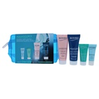 Biotherm Aquasource Dry Skin Kit 0.16oz Deep Serum, 0.10oz Eye Revitalizer, 0.16oz Rich Cream, 0.67oz Night Spa