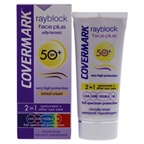 Covermark Rayblock Face Plus Tinted Cream 2-in-1 Waterproof SPF 50 - Oily Skin-Light Beige Sunscreen