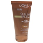 L'Oreal Paris Sublime Bronze Tinted Self-Tanning Lotion - Medium