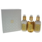 Amouage Honour 3.3oz Bath & Shower Gel, 3.3oz Body Lotion, 3.3oz Hand Cream