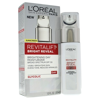 L'Oreal Paris Revitalift Bright Reveal Brightening Day Moisturizer SPF 30