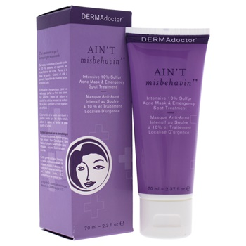 DERMAdoctor Aint Misbehavin Intensive 10% Sulfur Acne Mask Treatment