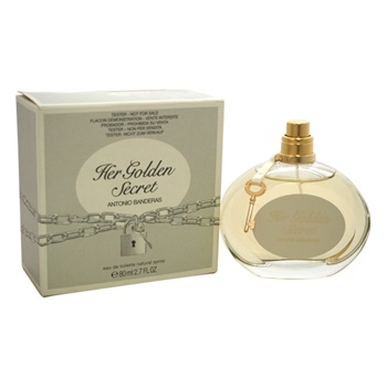 Antonio Banderas Her Golden Secret EDT Spray (Tester)
